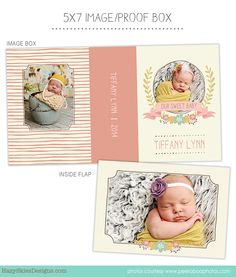 Image Box - Proof Box Photoshop Template for Photographers #Image box #Proof box #Template #Photography #newborn #photography templates #photography presentation #photography packaging #whcc #millers lab