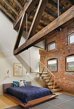 Diseño Interior de un Dormitorio -Gray Organschi-