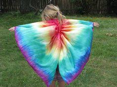 Oak Tree Vibrations....: Rainbow silk wings