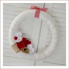 Valentine's Day DIY Craft Home Decor | Five Dollar Wreath Tutorial