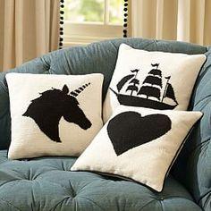 Las almohadas decorativas, fundas de almohada y fundas de almohada decorativa, lanza, Mantas, Throw Blankets | PBteen