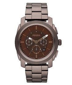Fossil Machine Brown IP Watch