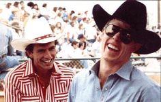 Lane Frost & Tuff Hedeman Great Bullriders!