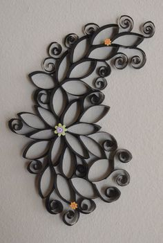 cool Toilet Paper Roll Art for Wall Decor | NEW Decorating Ideas