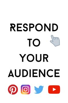 Engaging and responding to your audience is a helpful way to show them you value their insight. Building A Personal Brand, Build Your Brand, Social Media Marketing, Digital Marketing, Cool Captions, Your Values, Know Who You Are, You Videos, Growing Your Business