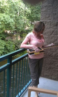Yup...that's right...a dulcimer made out of a cigar box.