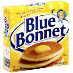 Blue Bonnet Stick Margarine: 1.5 grams trans fat per serving (1 tbsp)