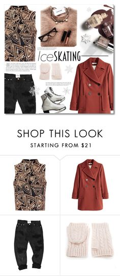 """""""~Ice skating~"""" by dolly-valkyrie ❤ liked on Polyvore featuring Glamorous, H&M, WithChic and iceskatingstyle"""
