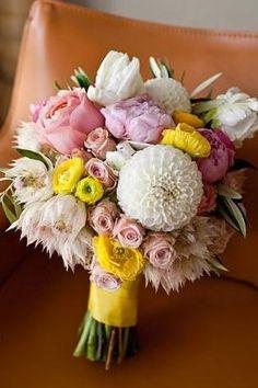 Bouquets de mariage rustique
