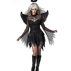 Disfraces de Halloween: Disfraz Ángel Oscuro