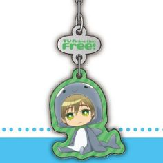 Crunchyroll - Store - 【Free!】 Zipper Pull Charm Set MAKOTO!!!!!! YOUR SO CUTE!!!!!