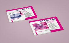 Horizontal leaflet mockup set It was fun creating such simple, yet usable mockup. Two sided leaflets are quite common, and that is why we decided t...