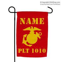 Garden Flag: 1st Battalion Guidon