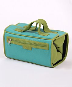 Loving this Aqua Vivian Roll-N-Go Cosmetic/Jewelry Bag on #zulily! #zulilyfinds