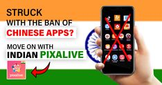 Are you worried that you can no longer use chinese Apps? Move on with an Indian app called Pixalive. Pixalive is an app replacer for Helo. Download the app now!  #Pixalive #App #Games #socialMedia #Friends #Chat #VideoCall #Voicecall #Photos #Texts #India Google App Store, Medium App, News Apps, No Worries, Texts, How To Become, Chinese, Social Media, Indian