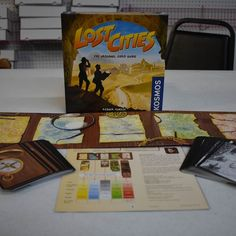 Newly Opened Game: Lost Cities! #boardgames #unboxing