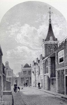 De Barbaratoren, hoek Keizerstraat, Kuiperstraat. Restant van Barbaragasthuis. Een en ander heeft mijn jongste broer nader onderzocht en we hebben het samen bekeken.