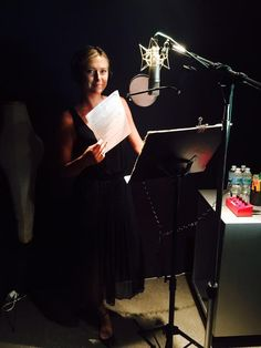 Maria's Twitter: Making the most of my NYC stay. In studio with @AmericanExpress.