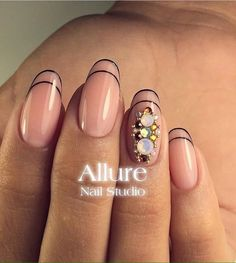 Beautiful nails 2017, Beige and pastel nails, Evening dress nails, Fashion nails…