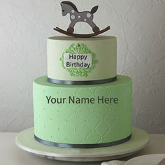 Write Your Name On Amazing Birthday Cake Online