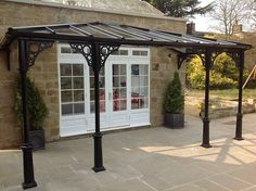 The wooden pergola is a good solution to add beauty to your garden. If you are not ready to spend thousands of dollars for building a cozy pergola then you may devise new strategies of trying out something different so that you can re Patio Pergola, Backyard Gazebo, Pergola Swing, Pergola With Roof, Cheap Pergola, Wooden Pergola, Covered Pergola, Patio Roof, Pergola Plans