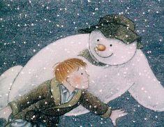CORTOS EDUCAR EN VALORES: El muñeco de nieve de Raymond Briggs