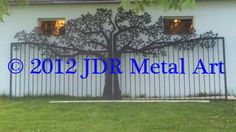 """Discover more details on """"metal tree wall art diy"""". Look at our web site. Metal Tree Wall Art, Metal Artwork, Custom Gates, Painting Shower, Tree Artwork, Unique Trees, Colorful Wall Art, Outdoor Kitchen Design, Gate Design"""