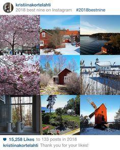 Kristiina K: YHDEKSÄN SUOSITTUA Best Nine, Cabin, Mansions, House Styles, Islands, Instagram, Home Decor, Mansion Houses, Homemade Home Decor