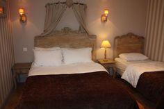 Idée décoration suite beige - Hôtel de charme La Villa Cap d'Ail on