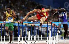 Liu Xiang - Athletics - Athens Olympics 2004 - Mens 110m Hurdles