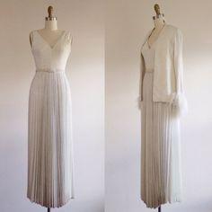 Einfache Hochzeit Kleid-White Wedding Dress-glamourösen Hochzeit-Designer Braut-Abendkleid - A Linie Hochzeit Kleid 70er Jahre Hochzeit…