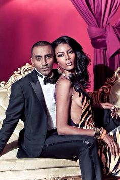 """"""" gradientlair: """" The model Gate Maya Haile and her husband, renown chef and author Marcus Samuelsson. When you talk about fabulous Black couples in the public eye, don't forget them. Black Celebrity Couples, Black Couples, Couples In Love, Power Couples, Beautiful Couple, Black Is Beautiful, Black Marriage, Swag, Black Celebrities"""