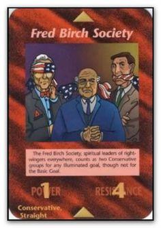 Illuminati Card Fred Birch Society