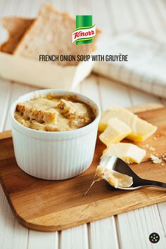 French Onion Soup with Gruyere by Pepper.Ph