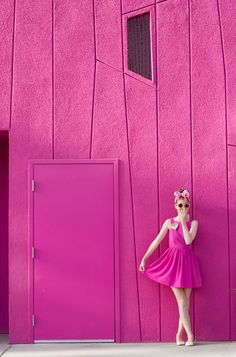 Pink on Pink at The Saguaro Palm Springs | Studio DIY