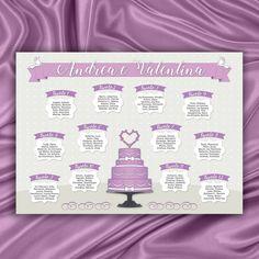 #tableaumariagetortanuziale #tableaumarriagestampabile #elencotavoli #tableplan #weddingplanner #piccolivoli #weddingcake #lilla #lilac #tableaumarriage #tableaumatrimonio