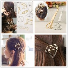 fashion metal hair clips pin hairpin accessories for women girls hair clip barrette hairgrip headdress ornaments tiara headwear
