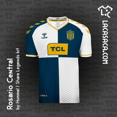 SuperLiga Argentina by Hummel Argentina Football, Soccer, Tees, Sports, T Shirt, Banners, Concept, River, Logo