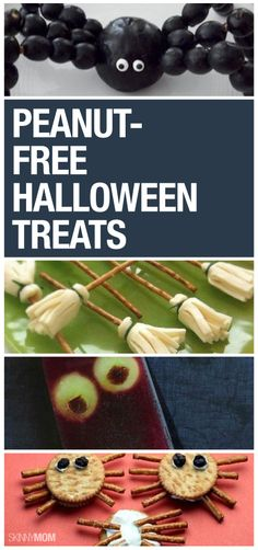 Healthy, peanut-free halloween treats for your kids' party