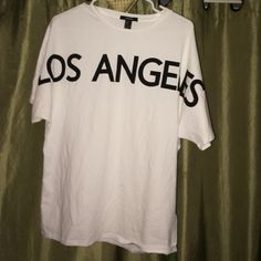 Los Angeles Dolman sleeve top Never worn without tags . It's just a great basic Forever 21 Tops Tees - Short Sleeve
