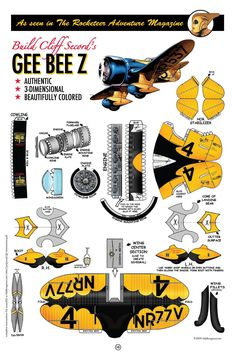 Gee Bee plans | fiddlersgreen.net