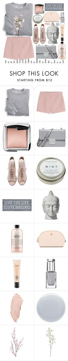 """Live the Life You've Imagined"" by alexandrazeres ❤ liked on Polyvore featuring Blair, Valentino, Hourglass Cosmetics, MICHAEL Michael Kors, CB2, Pier 1 Imports, Tory Burch, MAC Cosmetics, Chanel and Deborah Lippmann"