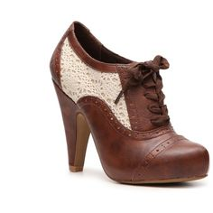 Not Rated Aries Oxford Pump ($45) ❤ liked on Polyvore