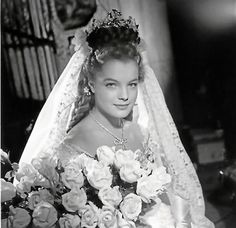 federicosfellini: Romy Schneider as Sissi in Sissi dir. Impératrice Sissi, Diva E, Victorian Ball Gowns, Empress Sissi, Old Hollywood Movies, Princes Diana, Old Dresses, Elisabeth, French Actress