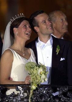 Wedding Princess Märtha-Louise of Norway https://www.pinterest.com/disavoia22/