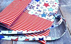 STARS NEEDLE CASE Knitting Crochet Double Pointed 100% Cotton