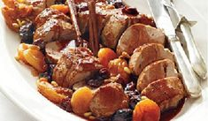 These juicy pork tenderloin recipes are perfect for your next dinner party or weeknight meal. Carve up one of our favorite Southern treats, and enjoy the flavors of pork tenderloin in any of these easy recipes. Pork Roast Recipes, Pork Tenderloin Recipes, Sauce Recipes, Cooking Recipes, Beef Tenderloin, Meat Recipes, Dessert Party, Christmas Main Dishes, Christmas Lunch