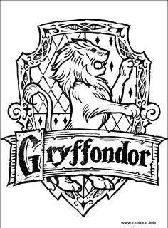 harry potter coloring pages free harry potter 4 harry potter printable coloring - Book Color Page