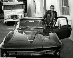 """Al igual que Steve McQueen, todo lo que necesito es una máquina rápida."""""""