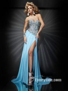 f09e4d3baa4 Wholesale Unique Sweetheart Natural Floor-length Blue Evening Dresses 217.99  Cheap Prom Dresses